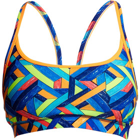 Funkita Sports Top Bikini Donna colorato